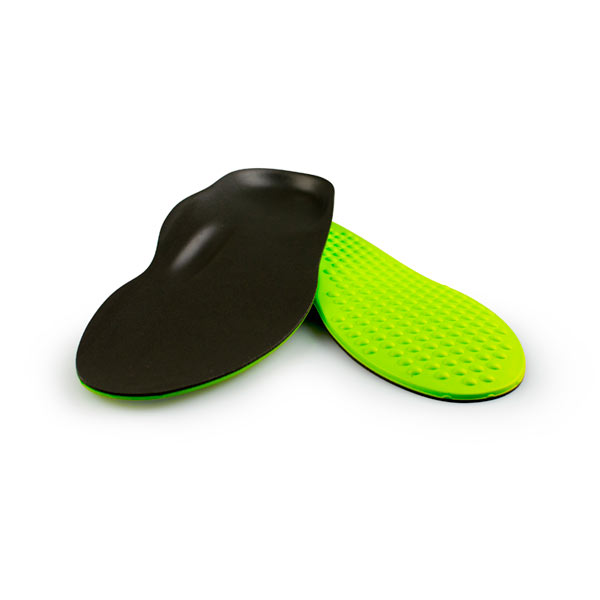 Interpod Soft Orthotic: long with low, 4 degree, arch height.