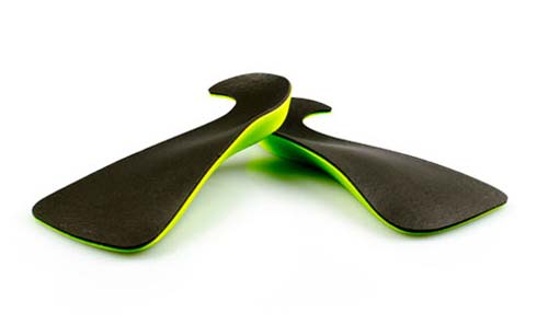 Interpod's Slimtech Orthotic: A slim hook shape insert for dress and business shoes.